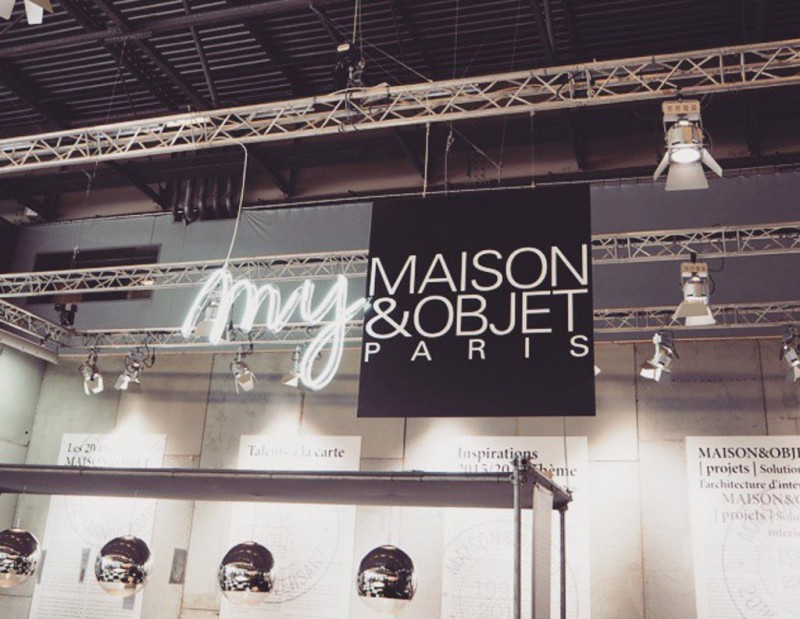 MAISON & OBJECT FAIR – ZİYARET